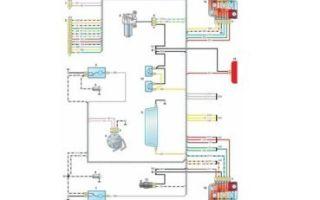 Электросхема с описанием ваз 2121 нива карбюратор