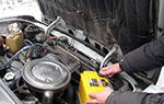 Чем промыть двигатель при замене масла